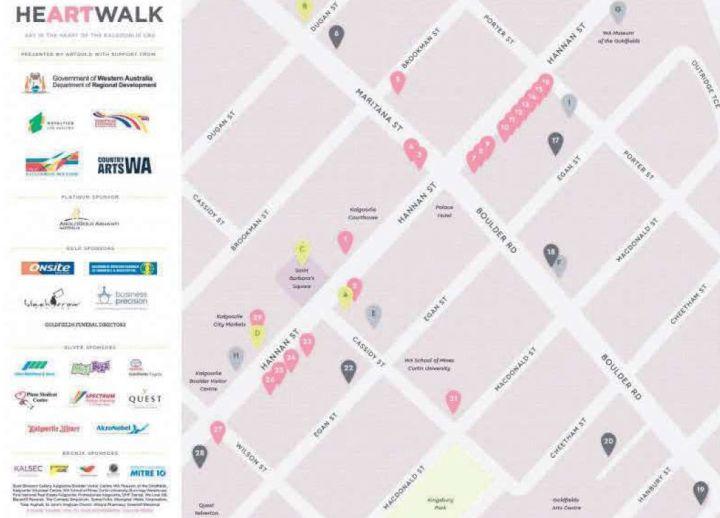 Heartwalk showcase 2017