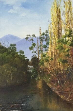 Lower Dargo Artist Rosalie Campbell