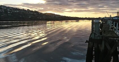 Tamar River Launceston by Sonja Hindrum