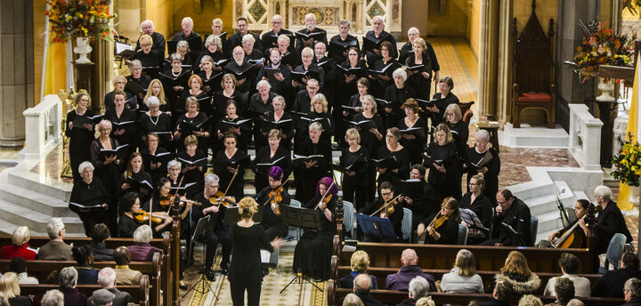 Ballarat Choral Society, Colac Chorale and Chamber Orchestra performing Vivaldi's Gloria