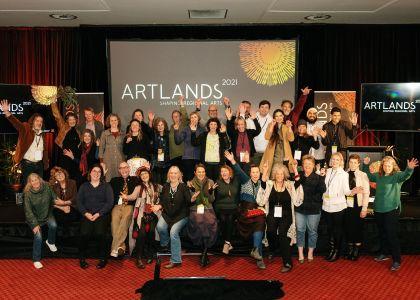 Artlands 2021 - It's a Wrap - photo by Nick Hansen
