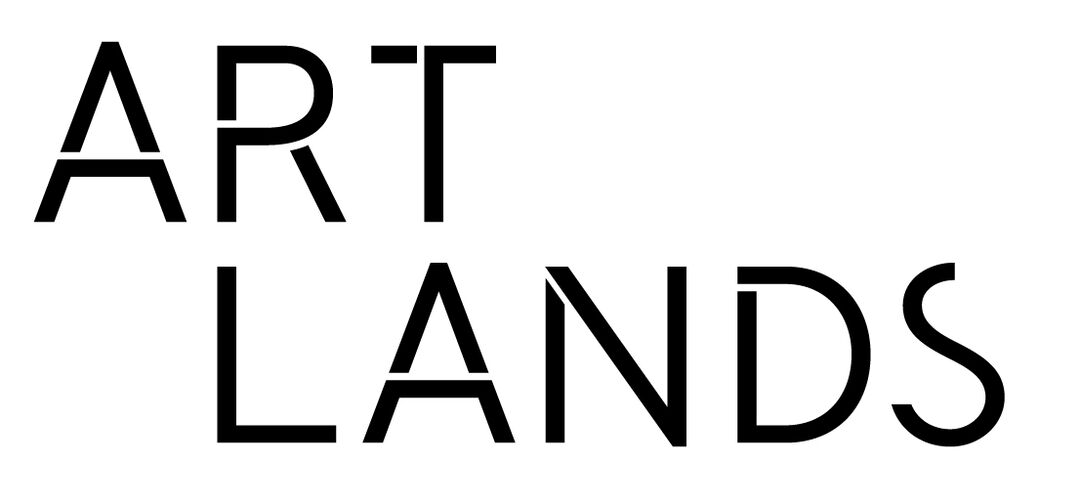Black Artlands Logo Stacked